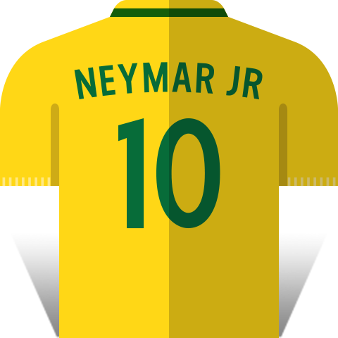 Team Brazil sticker